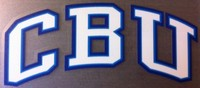 Cbu Arched Decal* Blue Decal