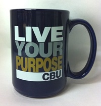 Cbu Live Your Purpose Mug* Navy Grande Mug