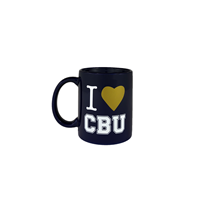 Traditional I Heart CBU Mug