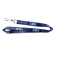 Live Your Purpose Satin Lanyard