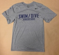 Nike Legends Swim/Dive Grey Dri Fit