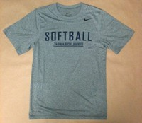 Nike Legends Softball Grey Dri Fit