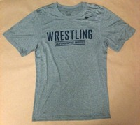 Nike Legends Wrestling Grey Dri Fit