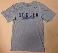 Nike Legends Soccer Grey Dri Fit