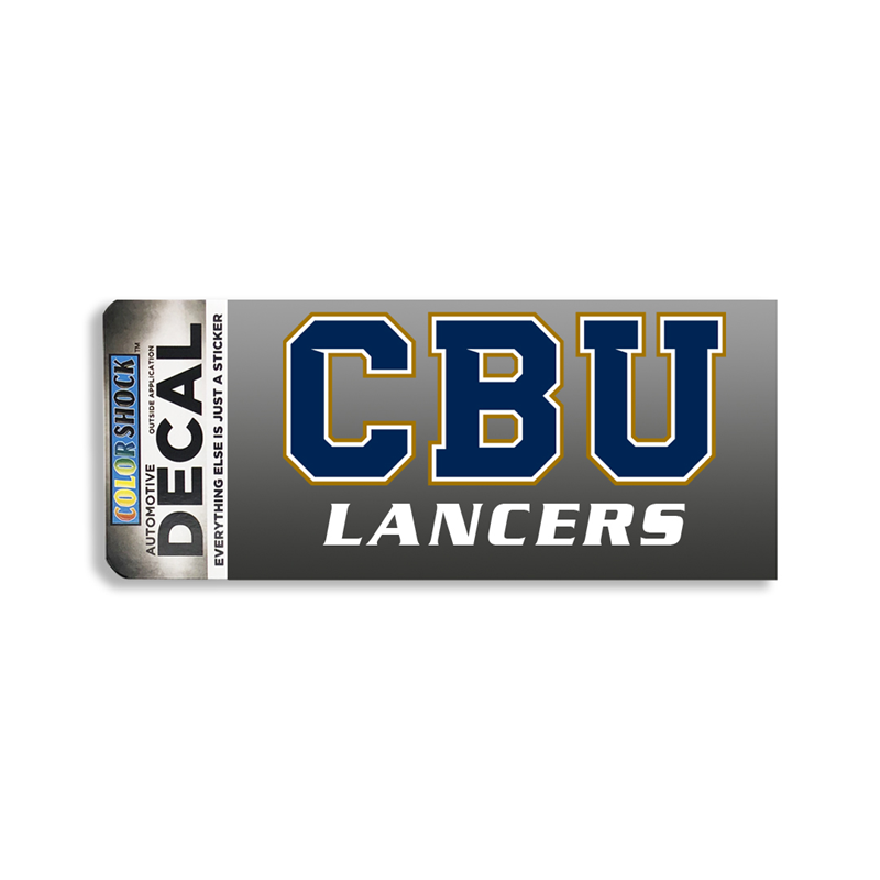 CBU Over Lancers Decal