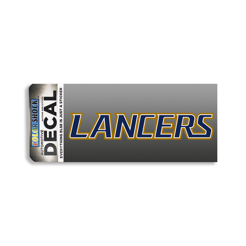 Lancers Lettermark Decal (SKU 1060597414)