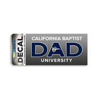 CBU Over Dad Shield Decal