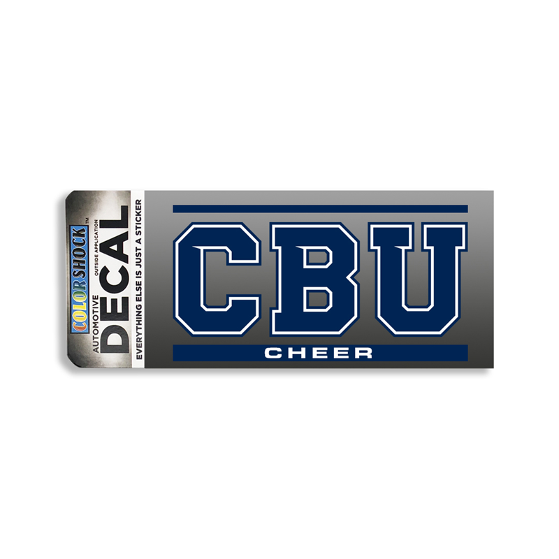 Cbu Cheer Decal (SKU 1063538440)