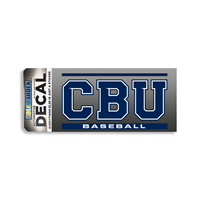 CBU Baseball Decal