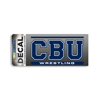 CBU Wrestling Decal