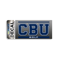 CBU Golf Decal