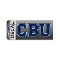 CBU Block (Navy/White) Decal