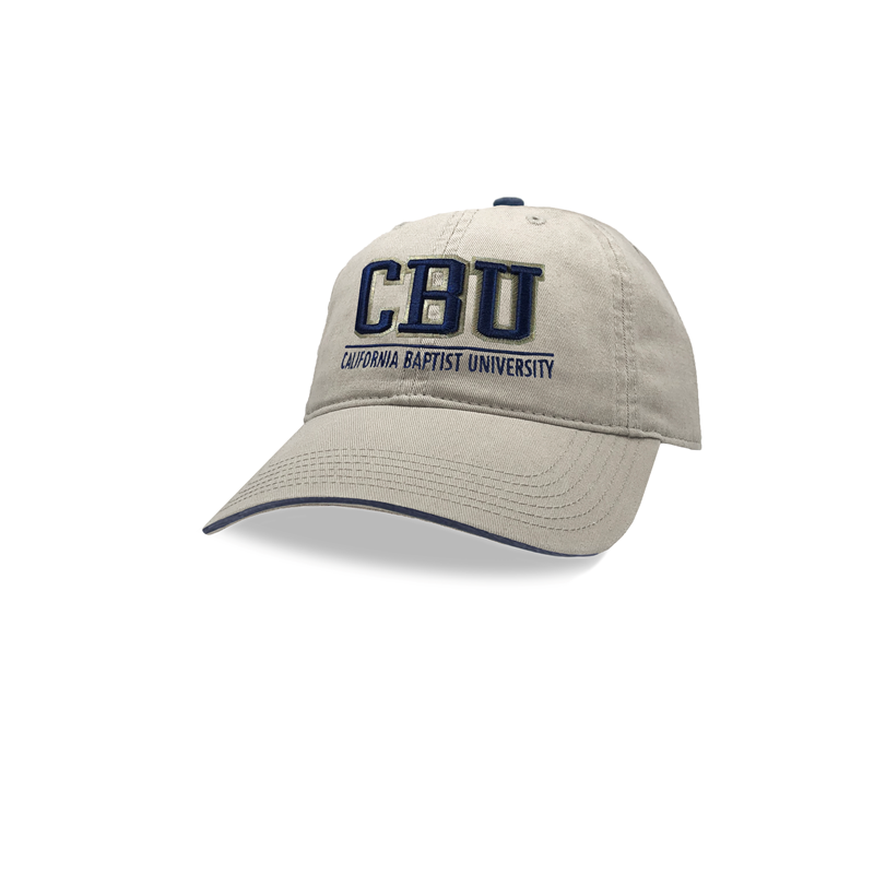 Relaxed Twill CBU Over California Baptist University Cap