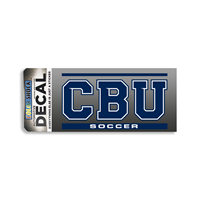CBU Soccer Decal