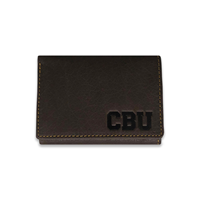 CBU Leather Tri-Fold Wallet