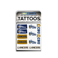 CBU Lancers Temporary Tattoos