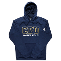 ADIDAS TEAM ISSUE WATER POLO PULLOVER HOODIE