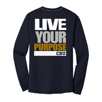 League Live Your Purpose Ls Pocket Tee