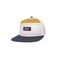 Sublimated 5 Panel Cbu Stripe Cap